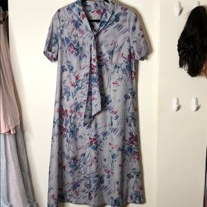 Vintage House Dress M/L